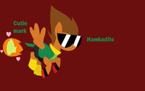UNKYXMLP - Hawkodile as a pony by worldofcaitlyn