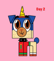 UNKY - Pup-Cember Day 2 by worldofcaitlyn