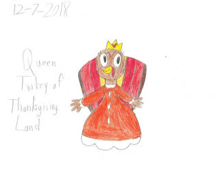 TNBC - Queen Turkey Of Thanksgiving Land by worldofcaitlyn
