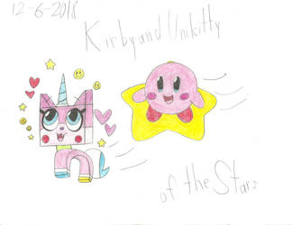 UNKYXKirby - Two Heroes Of The Stars by worldofcaitlyn
