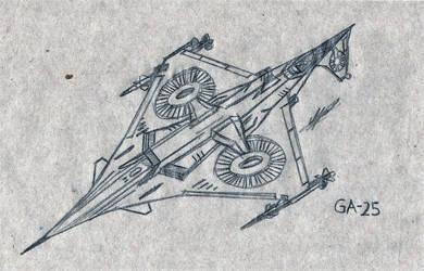 GA-25 by 7H3D3M0NL0RD