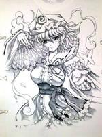 Yuyuko Princess of Hakugyokuro by ranalez