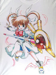 T-shirt Nanoha by ranalez