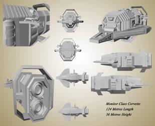 Monitor Class Corvette by Furiousangel113