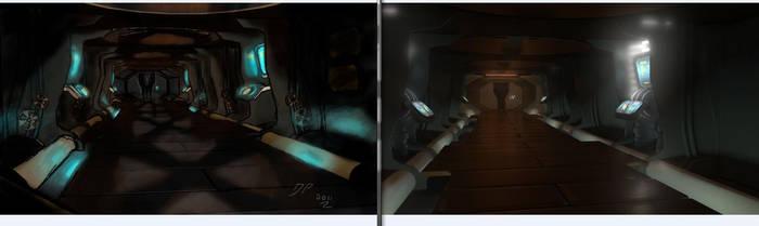 Corridor-Concept Comparison by Furiousangel113