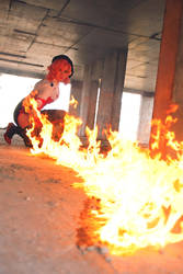 Karen Kasumi - fire of justice by Gekidan