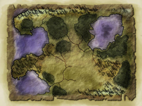 Blank fantasy map by Froggybre on DeviantArt