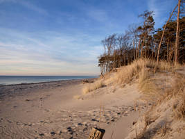 sunset at the baltic sea II by jennomat
