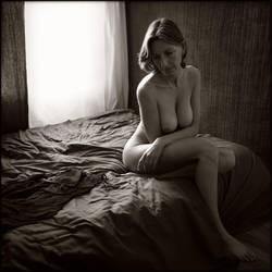 Pensive - F. by Renoux