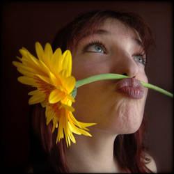La fleur jaune by Renoux