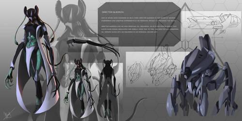 Sci fi character sheet 1 by ArtofWeiHan