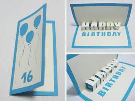 Happy B day Greeting Card by lignystein