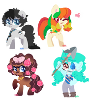 Lineless Batch 3 by Xaika