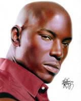 Drawing Tyrese by Heatherrooney