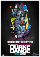 QuakeDance flyer by Fla4flav