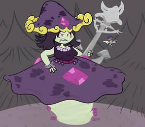 Mushroom Goddess by Cactus-Senpai