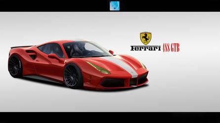 Ferrari 488 GTB by CustDe