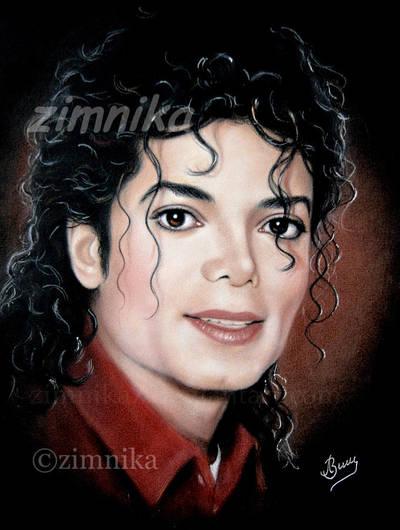 Portrait MJ by zimnika7