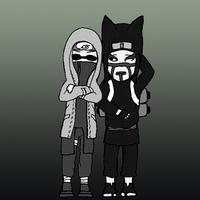 Chibi Couples: KankuShino by CrystalLynnblud
