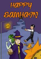 Happy Samhain Fest by Larryon