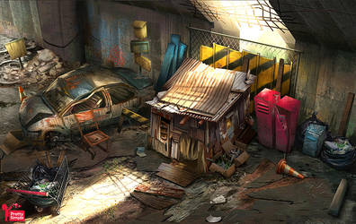 Homeless Shack by Dedyone