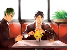 cafe' by Afternoontm