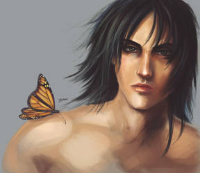 butterfly dude by Asterisks