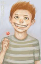 a happy boy by Asterisks