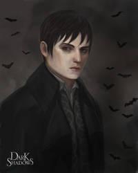 Dark Shadows Portrait by Asterisks
