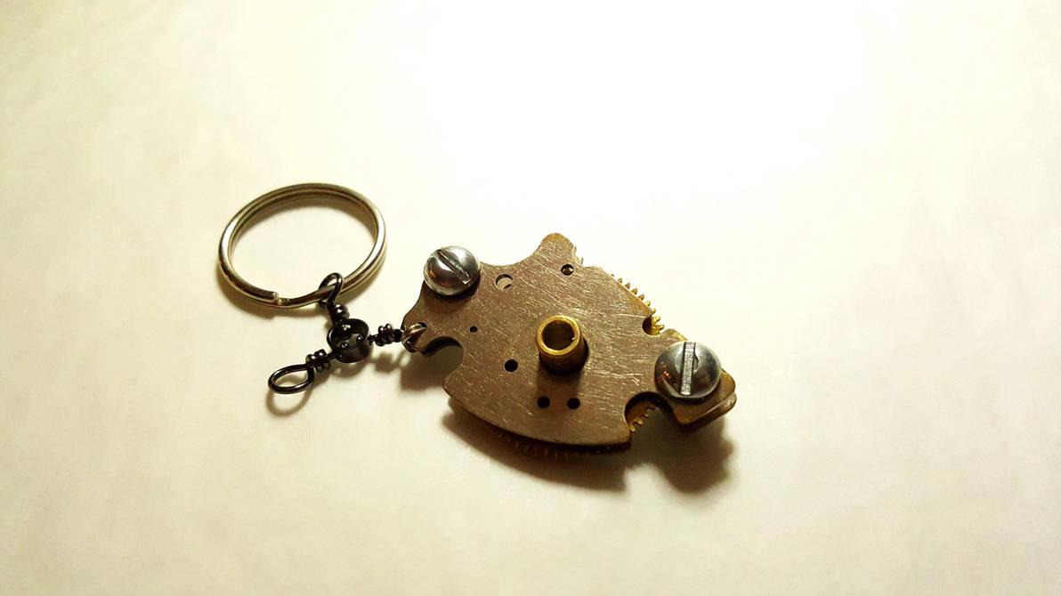 Gear Keychain Fidget toy by Nibroc99
