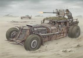 Desert Rats by jflaxman