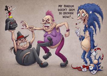 Social Justice Wars by jflaxman