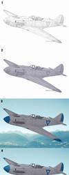 Mixed Media Aircraft Tutorial by jflaxman