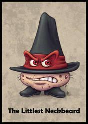 The Littlest Neckbeard by jflaxman