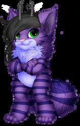 Lavander Kitty Furvilla Paintie Version 2.0 by BlueFoxThom