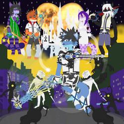 Kingdom Hearts Furry by BlueFoxThom