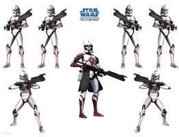 Clone Wars Wallpaper by Derfs-Domain