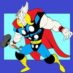 Thor by Derfs-Domain