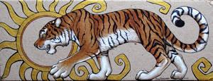 Sun Tiger by XianJaguar