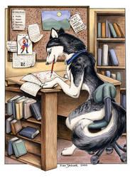 Rio the husky by XianJaguar