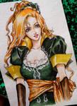 Maria Renard / Castlevania by Lauryn-M