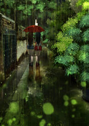 You and the Rain by teagirl-vn