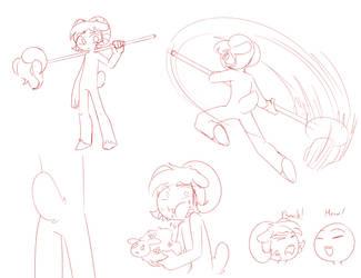 Ramla doodles by LixDHedgehog