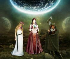 Maiden, Mother, Crone by archseer