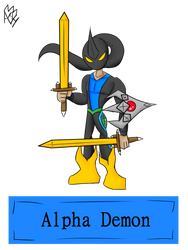 Alpha Demon by AlphaAnt4