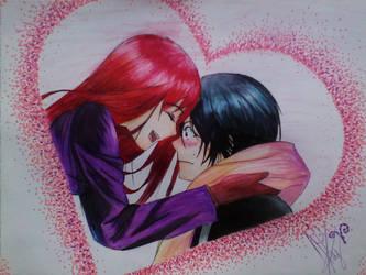 Noragami-Yato and Hyori by AlexaHeartfilia