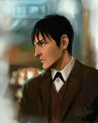 Oswald Cobblepot by GilJimbo