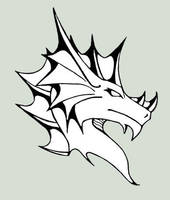 Dragon logo II by Naseilen