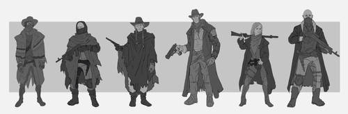 western characters 002 by ongblack