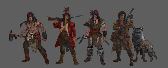 wildwest-01 by ongblack